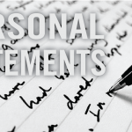 Writing Law School Personal Statements